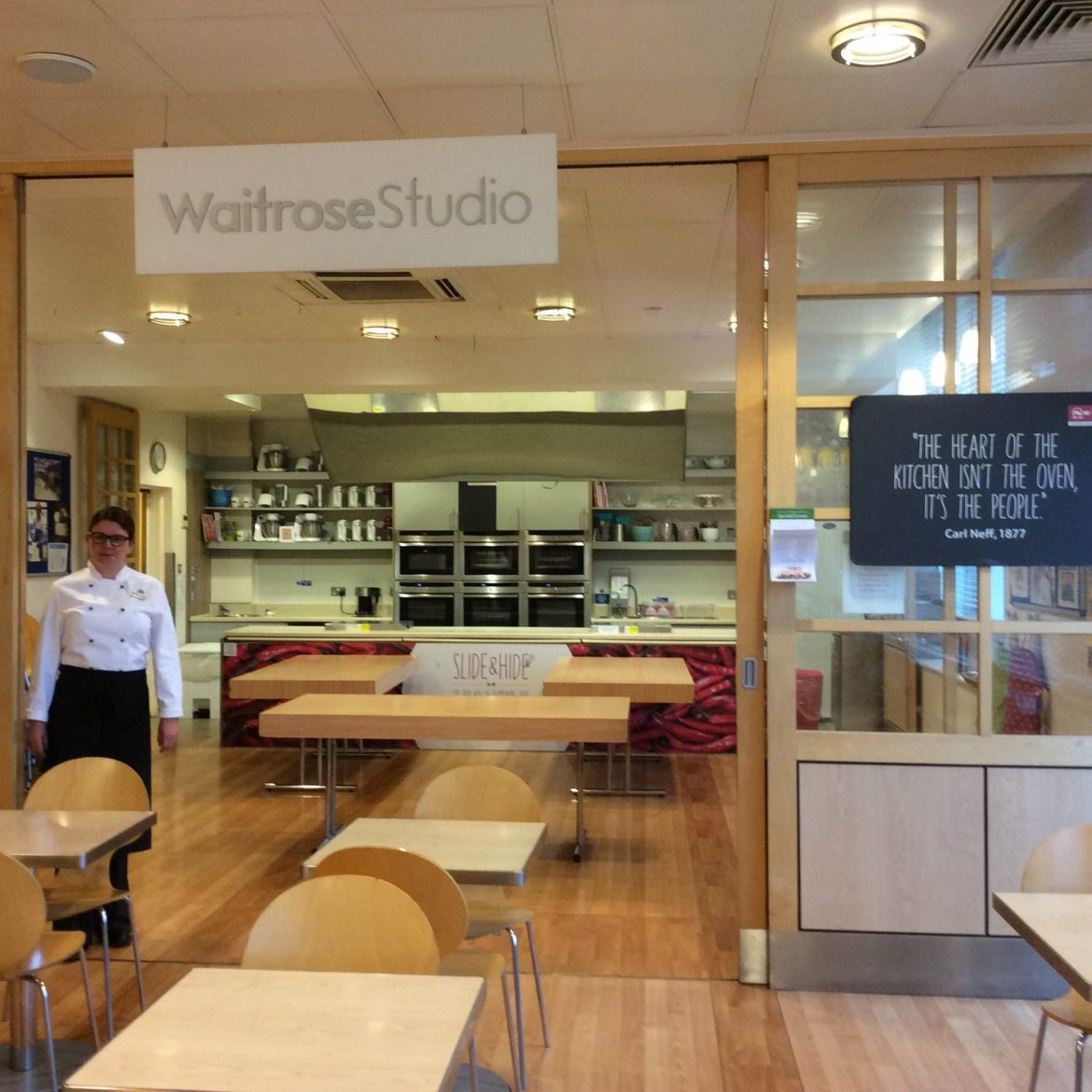 Waitrose Cheltenham Cookery Demos